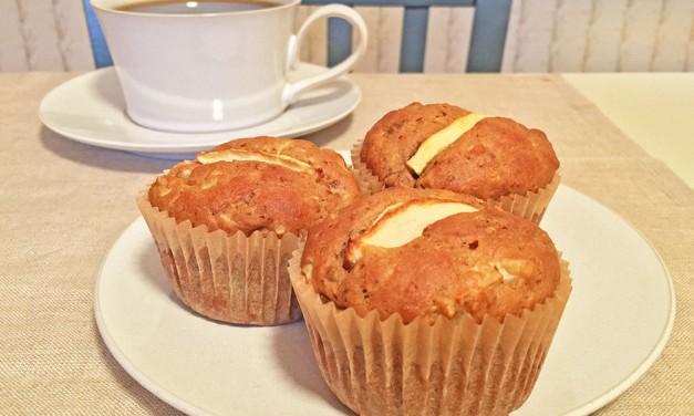 Healthy Apple-Walnut Muffins