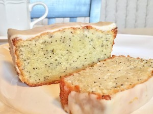 Lemon Poppy-Seed Pound Cake