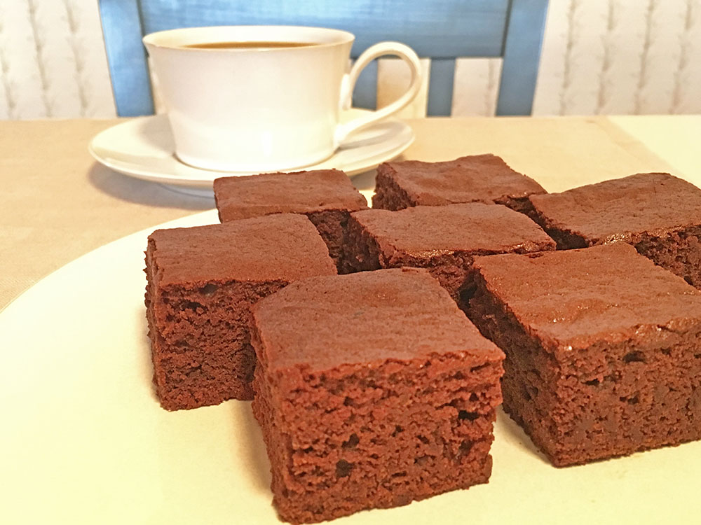 One-Pot Mocha Brownies