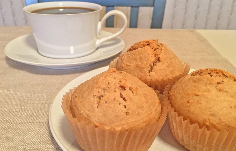 Peanut Butter Cookie Muffins