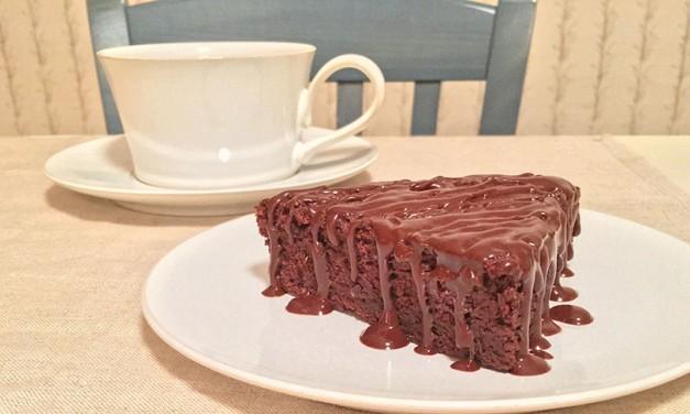 Raspberry Fudge Cake