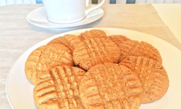 3 Ingredient Peanut Butter Cookies!