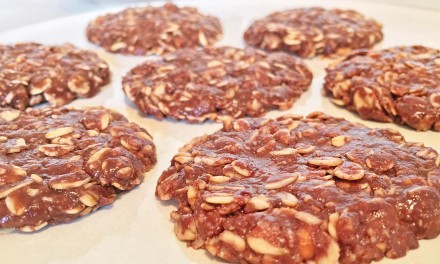 6-Ingredient, Healthy No-Bake Cookies