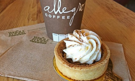 Whole Foods Pumpkin Tartlet and Coffee