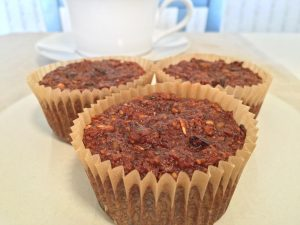 Flourless Morning Glory Muffins Snack