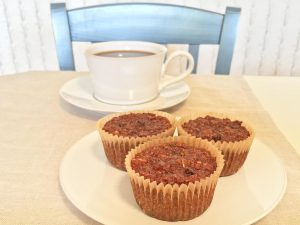 Flourless Morning Glory Muffins and Coffee