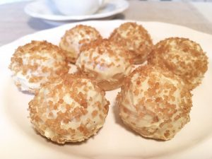 Strawberry Shortcake Stuffed Golden Oreo Truffles