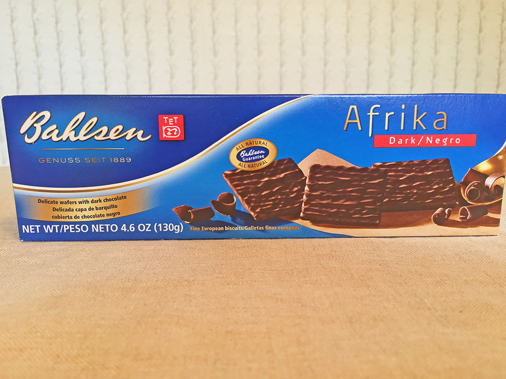 Bahlsen Afrika Dark Wafers Box