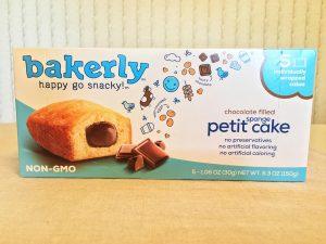Bakerly Chocolate Filled Petit Sponge Cake Box