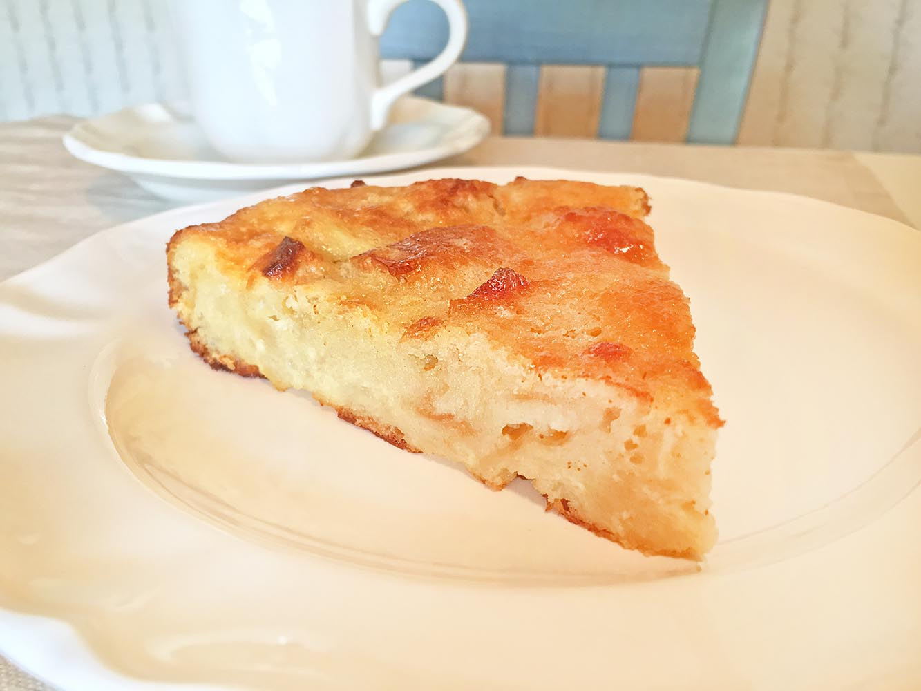 Easy Buttermilk Pie Bread Pudding with Coffee
