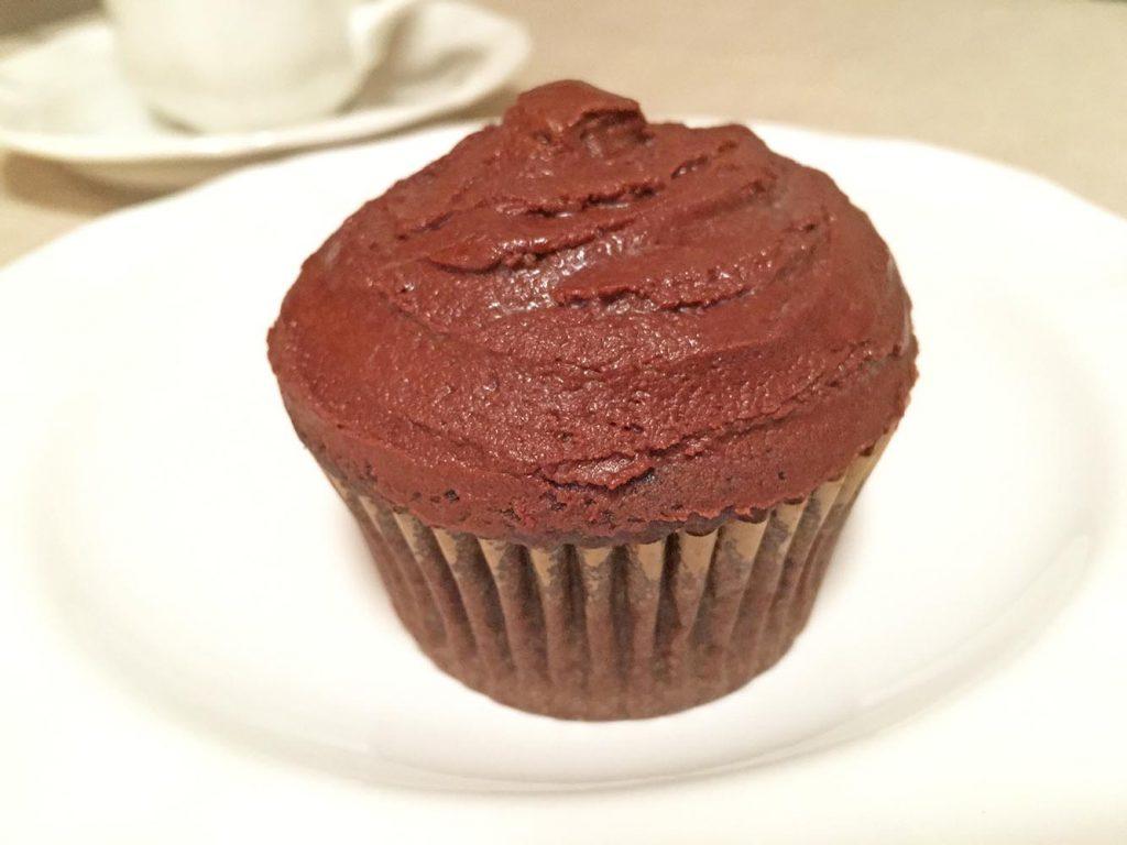 Immaculate Chocolate Cupcake
