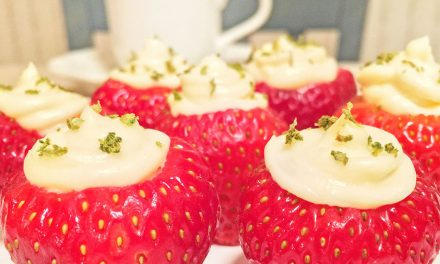 Strawberry Key Lime Pie Bites