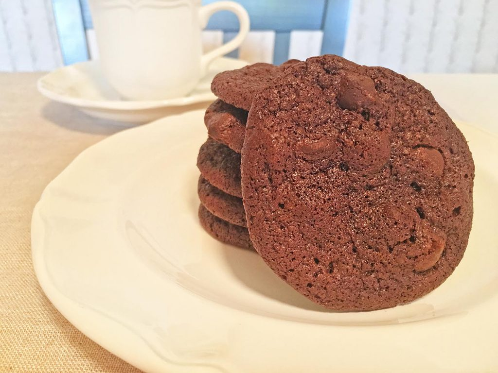 Tate's Gluten Free Double Chocolate Chip Cookies