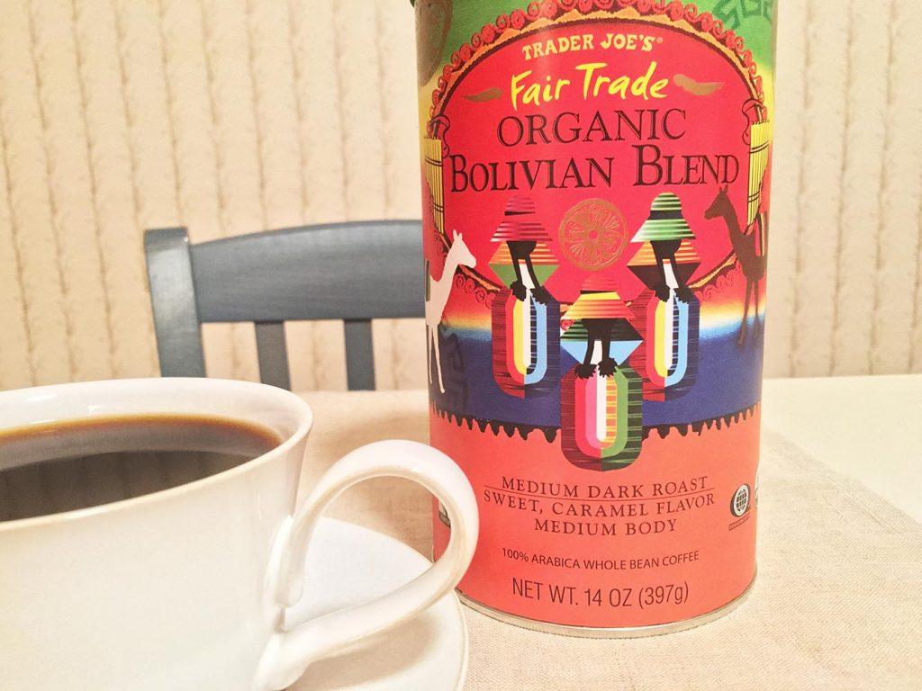 Trader Joe's Organic Bolivian Blend Coffee