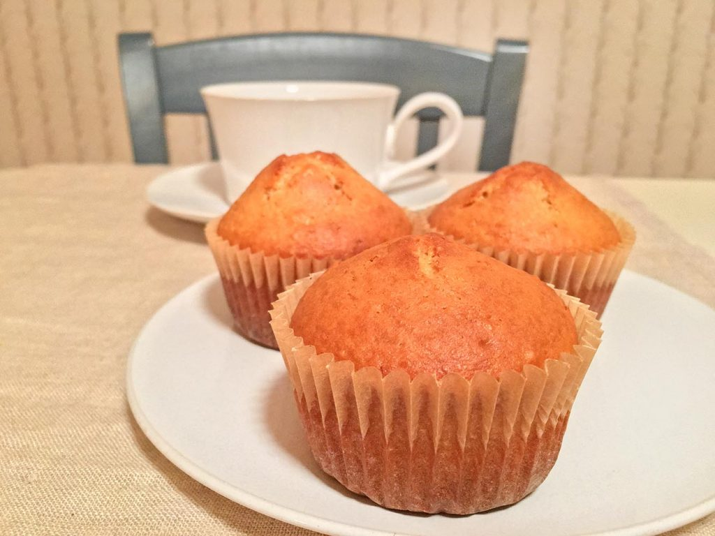 Peanut Butter Muffins and Coffee