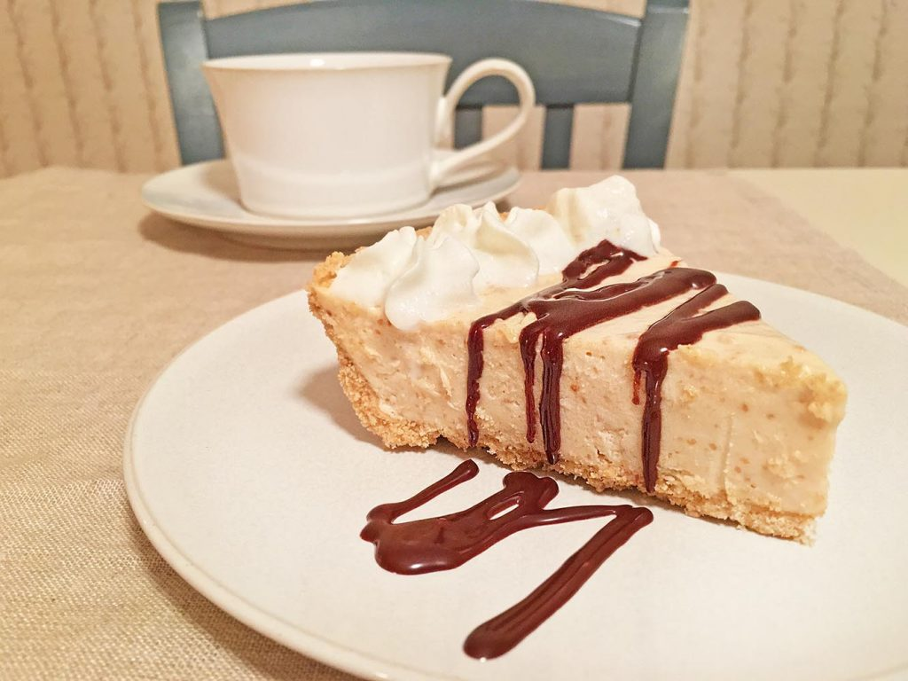Peanut Butter Pie and Coffee