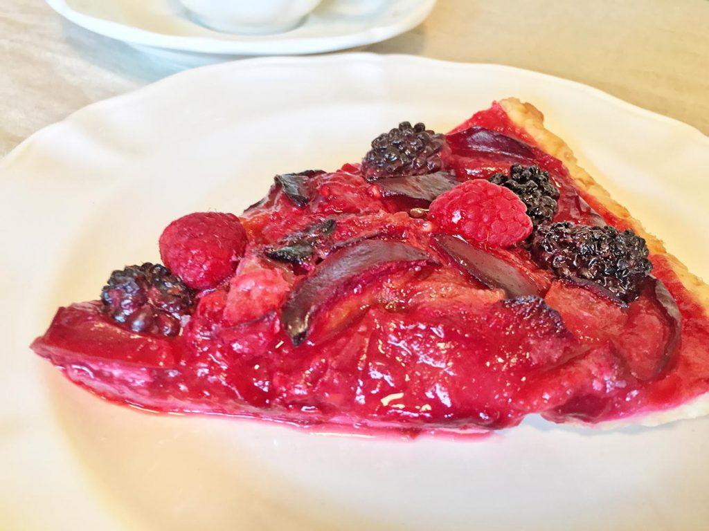 Emma's Plum-tastic Raspberry-Plum Tarts
