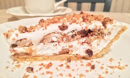 No Bake Chocolate Chip Cookie Pie