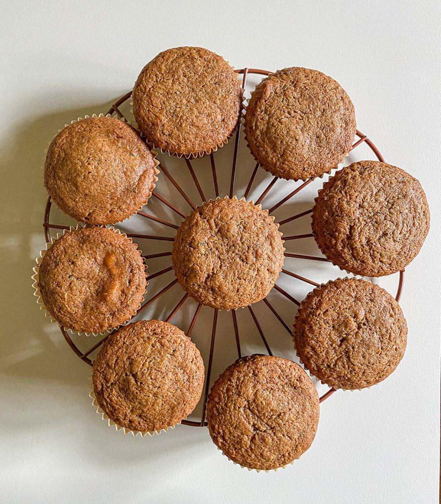Zucchini Cream Cheese Muffins